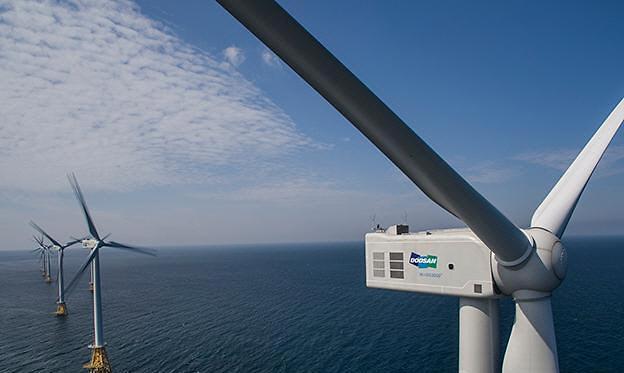 두산중공업, 서남해 해상풍력 단지 유지보수 계약