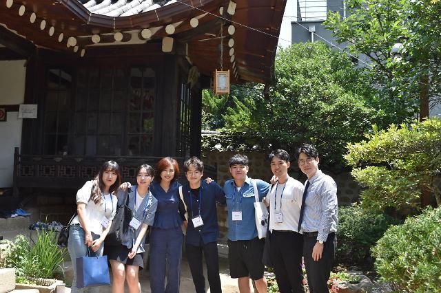 에실로코리아, 서울과기대 학생들과 이심점심