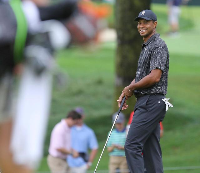 """타이거 우즈가 작년에 외친 말 """"내 골프 인생은 끝났어"""""""