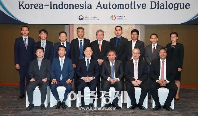 100만 인도네시아 자동차 시장 공략 시동…한-인도네시아 자동차 대화 개최