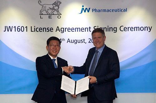 JW Pharmaceutical wins $402 mln license out deal with Danish firm