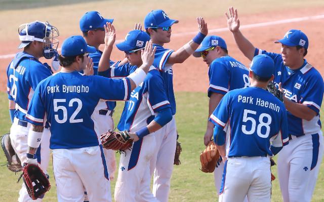 [아시안게임] 오늘의 아시안게임(31일)…한국-중국, 야구 슈퍼라운드 2차전