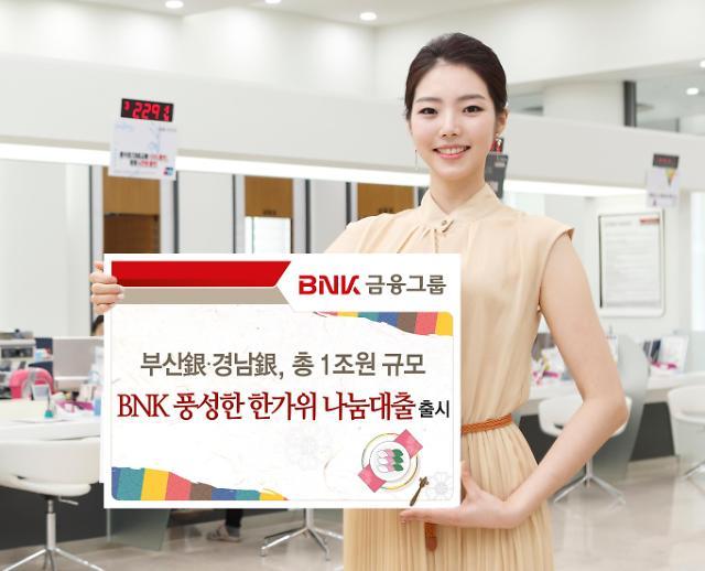 부산·경남은행, 추석맞이 특별자금 1조원 지원