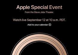 Apple gửi thư mời truyền thông dự sự kiện ra mắt iPhone Xs