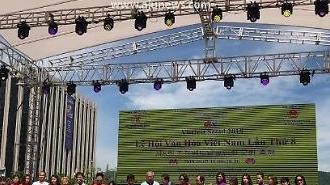 Hình ảnh Lễ hội Văn hóa Việt Nam lần thứ 8 tại Hàn Quốc