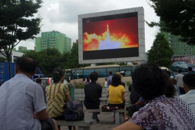 韩央行:朝鲜风险使国内股价单月下降3.75%