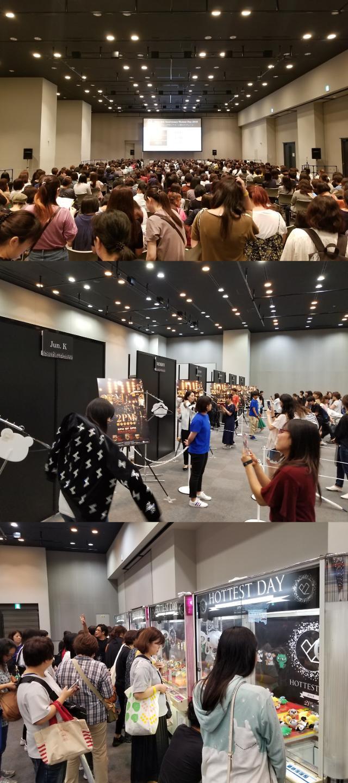 [스타 in 일본] 2PM 데뷔 10주년 이벤트 일본서도 인기폭발···日서 2PM 캐릭터 활용한 스페셜 카페 오픈