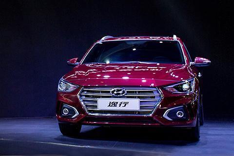 现代汽车在华推出首款掀背车逸行
