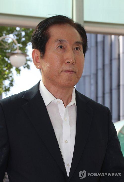 韩国前警察厅厅长赵显五否认涉嫌留言造假