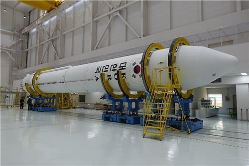S. Korea unveils space rocket engine for test launch: Yonhap