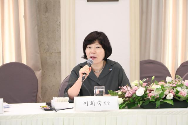 """이희숙 소비자원장 """"라돈침대 집단분쟁조정 결과 이달 중순 발표"""""""