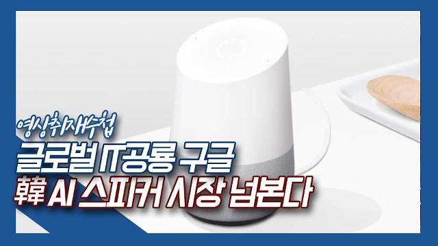 [영상취재수첩] 글로벌 IT 공룡 구글, 韓 인공지능 스피커 시장 넘본다