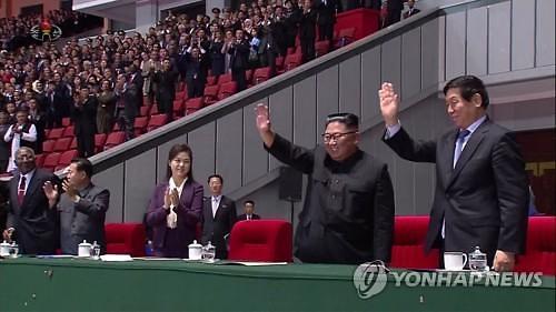 金正恩致谢民众参加建政庆典