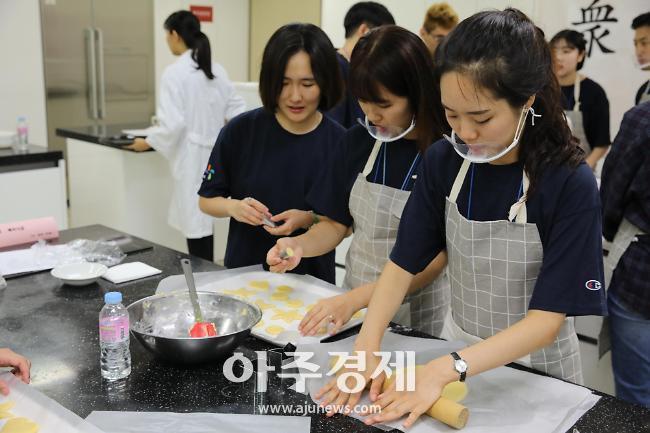 가천대 '텃밭수확물 지역공동체 나눔 행사' 개최