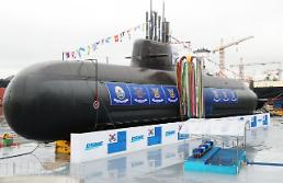 S. Korea launches first 3,000-ton submarine capable of firing ballistic missiles