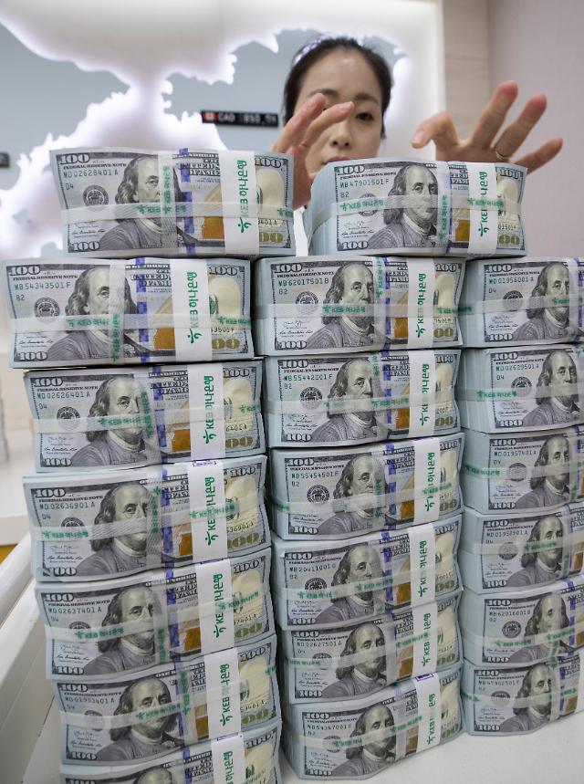 8월 거주자외화예금 713억 달러…기업 달러화예금 증가 영향