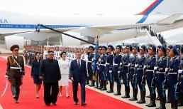 .韩朝首脑在平壤举行首场会谈 就三大议题交换意见.