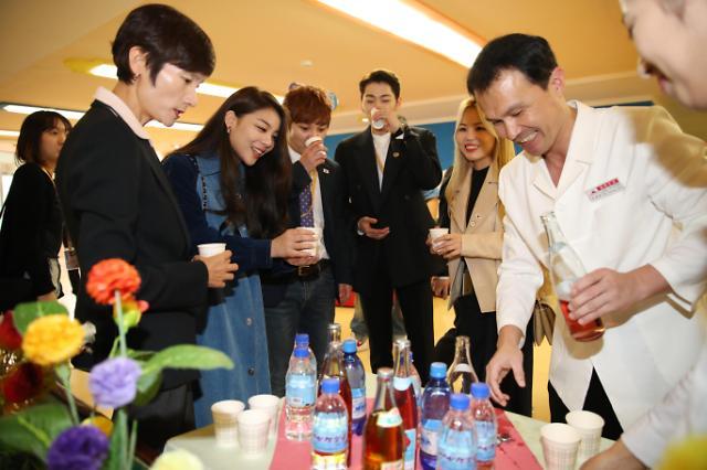 尝尝朝鲜的饮料味道如何