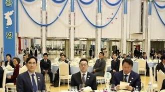 [영상/평양 남북정상회담] 최문순과 이재용 사이에 앉은 현송월