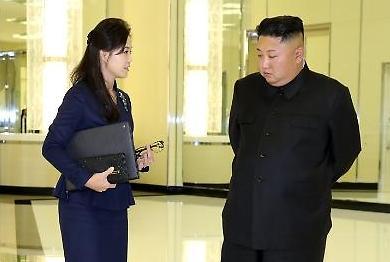 [포토/평양 남북정상회담] 비서 리설주??