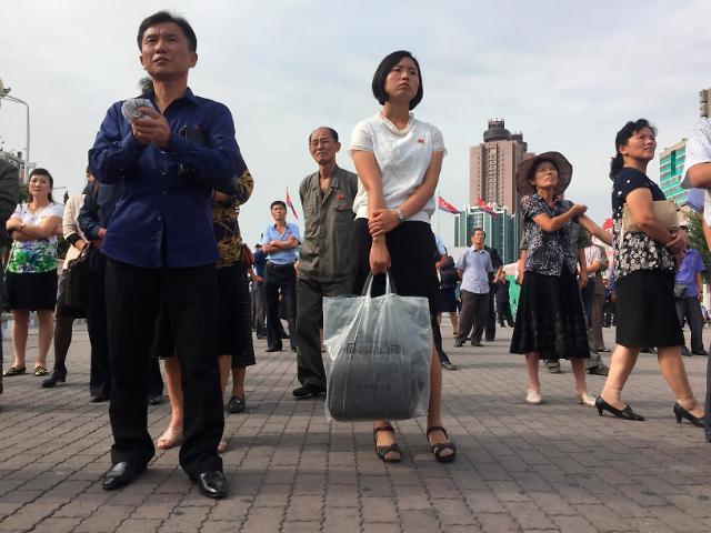 平壤市民高度关注韩朝首脑会谈