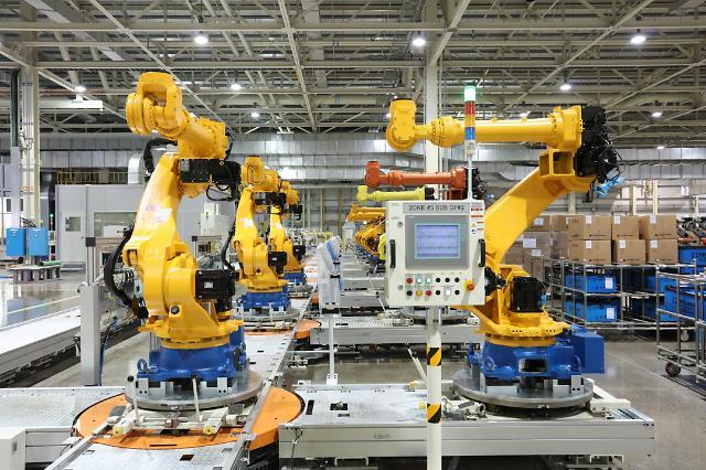 현대重지주, 中 용접 로봇 1위 '하궁즈넝'과 합자기업 설립한다