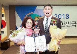 장경식 경북도의회 의장, 2018 대한민국 사회발전대상 수상