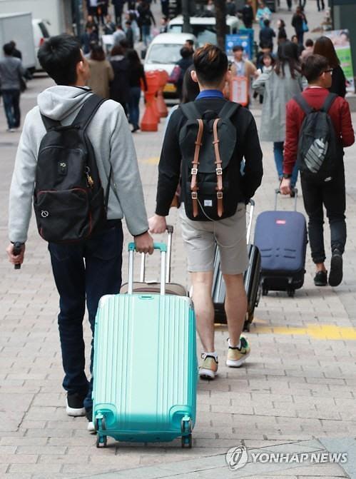 8月访韩游客增加26.1% 其中中国游客增加40.9%