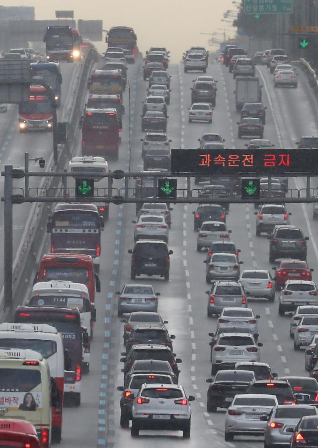 韩国迎来中秋返乡高峰