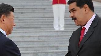 中 '반미' 베네수엘라와 관계 굳히기...軍 병원선 파견해 의료지원