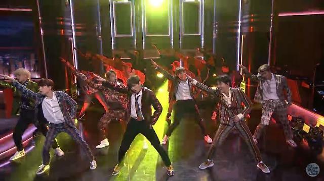 BTS出演《吉米今夜秀》