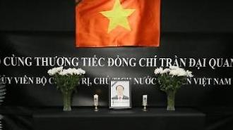 Hiệp hội KOVECA, Kinh tế AJU, Tập đoàn SM Group kính viếng Chủ tịch nước Trần Đại Quang