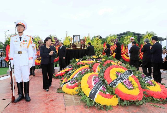 [글로벌포토] 쩐다이꽝 베트남 국가주석의 마지막 여정