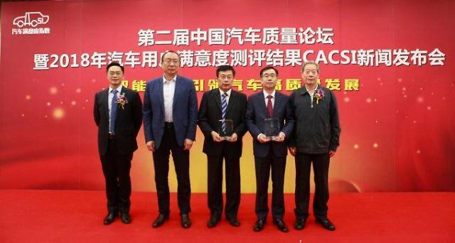 北京现代连续5年获中国CACSI售后满意度第一