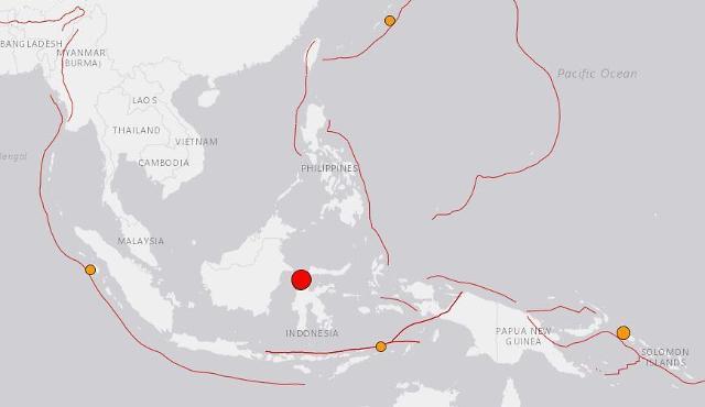 인도네시아 규모 7.7 강진...쓰나미 우려에 대피령