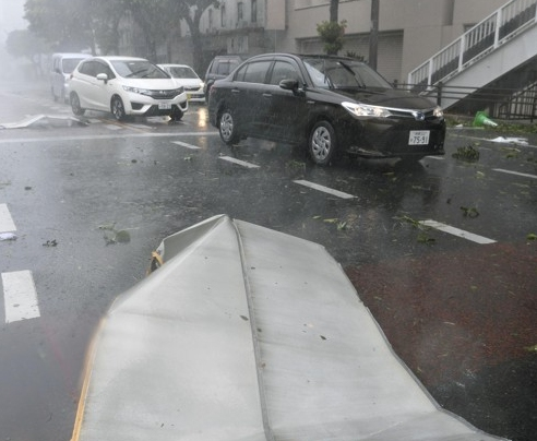 태풍 짜미에 日 오사카 간사이공항·유니버설스튜디오 폐쇄…태풍 콩레이, 이동경로는?