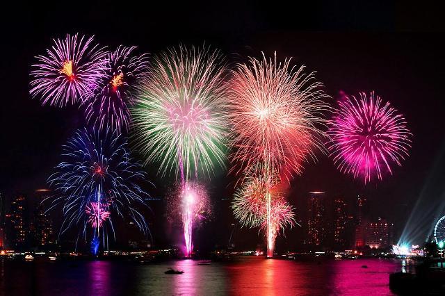 首尔世界烟花庆典6日举行 地铁运行次数增加