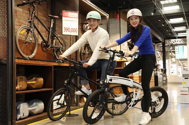 '코리아 세일 페스타' 이마트, 전기자전거 역대 최저가 판매