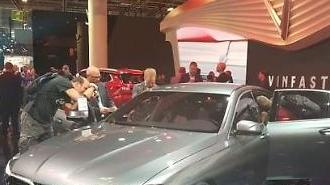 Video ra mắt ô tô Vinfast tại Paris Motor Show