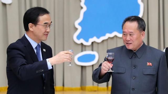 韩朝今首次合办《10·4宣言》纪念活动