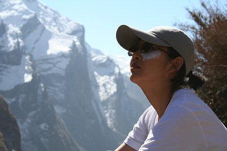 [타계10주기]최진실의 10가지 진실-(9)히말라야 안나푸르나 4200m서 최진실은 인생을 발견했다