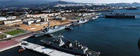 韩海军济州基地下周对外开放