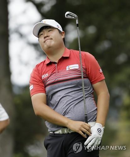 '루키' 임성재, PGA 공식 데뷔전서 강렬한 '공동 4위' 출발