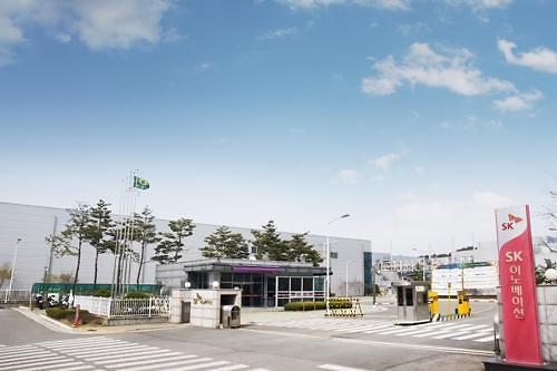 SK Innovation斥资4000亿韩元 在华建电动车电池隔膜工厂