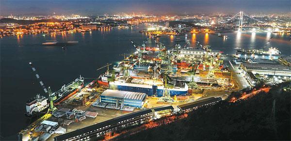 韩国造船业订单量力压中国  连续五月居世界首位