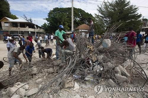 아이티서 규모 5.9 지진 이후 여진 계속...사상자 급증 우려