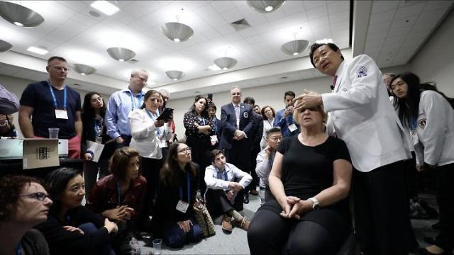 자생의료재단, 미국 의료진에 한방 비수술요법 전파