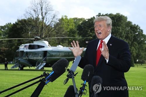 """트럼프 """"2차 북미 회담, 11월 6일 이후 열릴 것...후보지 3~4곳"""""""