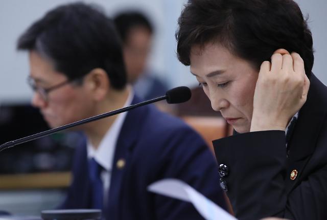 """[2018 국감] 김현미 """"9·13대책 이후 주택시장 과열 진정"""""""