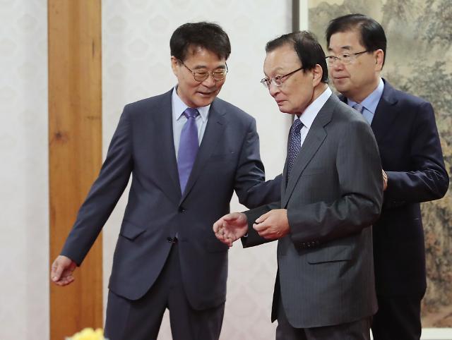 청와대, 김동연-장하성 연말 교체 보도에 강력한 유감 표명